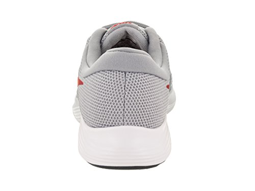 NIKE Men's Revolution 4 Running Shoe Wolf Grey/Gym Red/Stealth/White Size 10 M US by NIKE (Image #3)