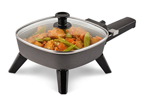 Toastmaster TM-601SK Electric Skillet, 6 inch, Black