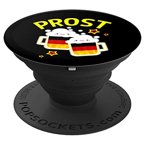 Octoberfest Prost Gifts Oktoberfest Stein Beer Lover  PopSockets Grip and Stand for Phones and Tablets