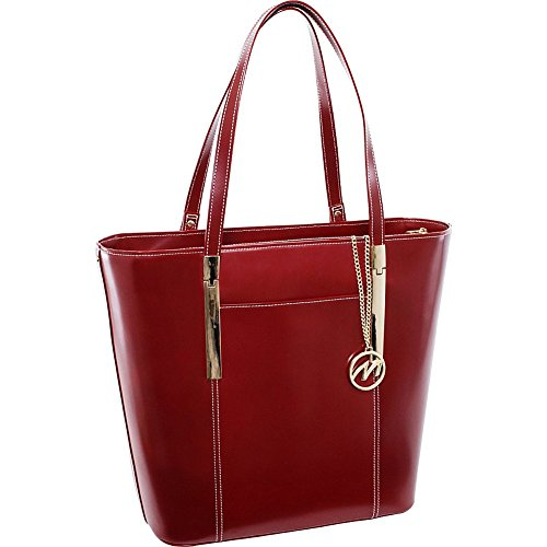 mcklein-usa-97736-deva-leather-ladies-tote-with-tablet-pocket-red