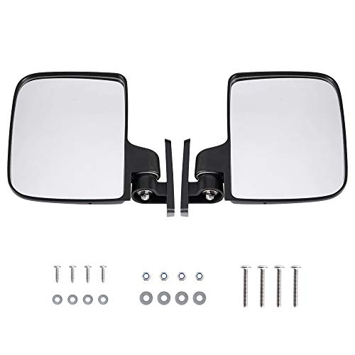 - BETOOLL HW9008 Golf Cart Folding Side View Mirrors for Club Car, EZGO, Yamaha, Star, Zone Carts