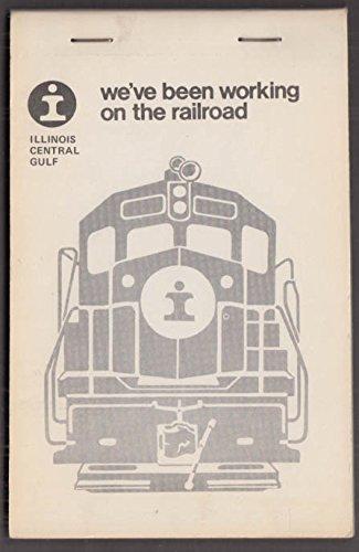 Illinois Central Gulf Railroad (Illinois Central Gulf Railroad Memorandum Pad 4 sheet designs; unused 1970s)