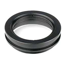 AmScope SM10 1X Barlow Lens For SM Stereo Microscopes (48MM)