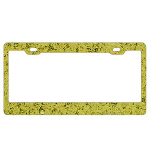 ble Texture Car Accessories Metal License Plate Frame (New) 12