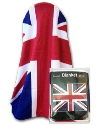 AES UK England United Kingdom Great Britain Polar Fleece Blanket 50x60 inches