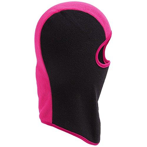 New Grand Sierra Youth Kids Balaclava Fleece Hat Face Mask Ages 7-16 Black Pink New Balaclava