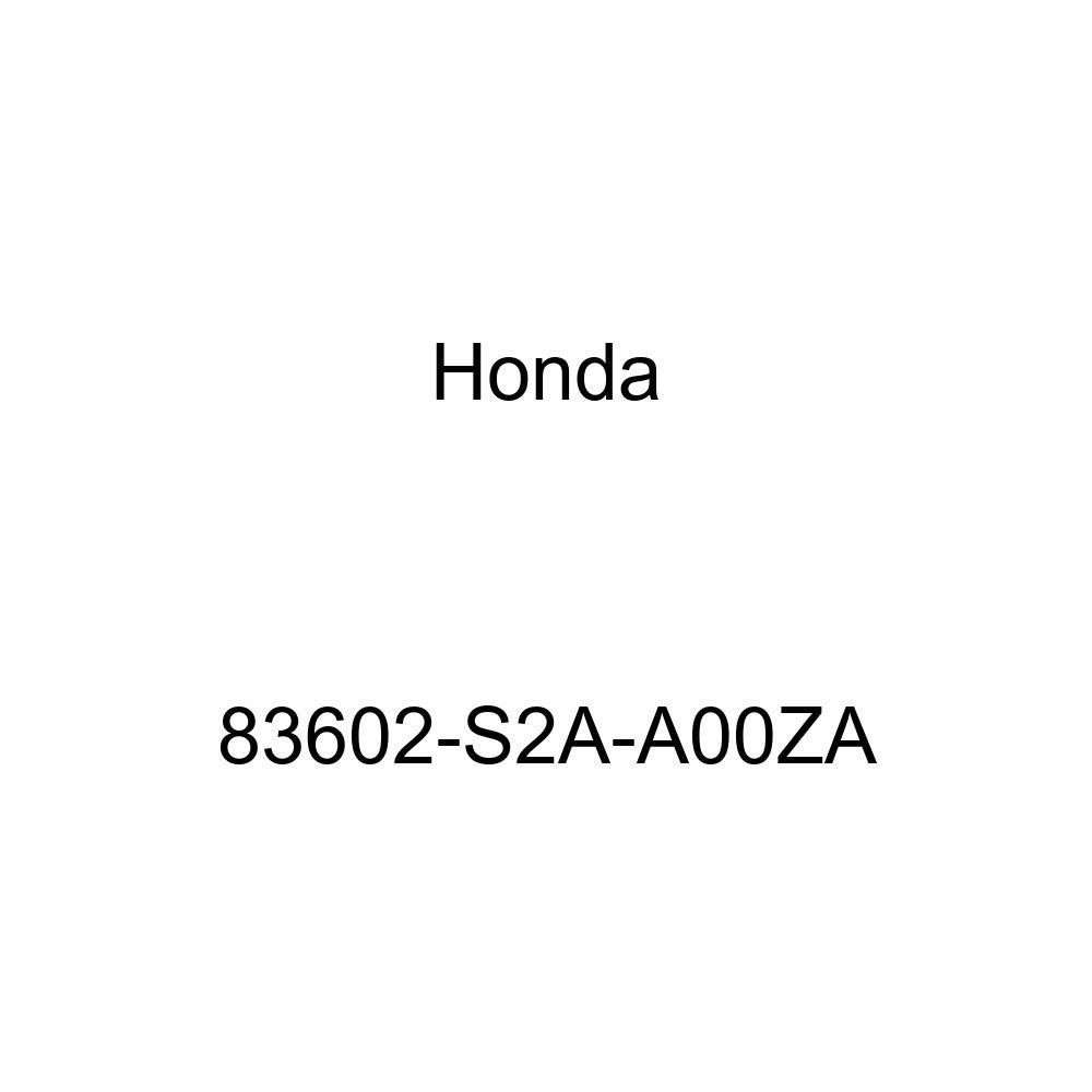 Left Honda Genuine 83602-S2A-A00ZA Floor Mat Front Graphite Black