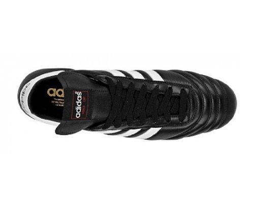 adidas Mundial Goal - zapatillas de fútbol de piel unisex black/runwht