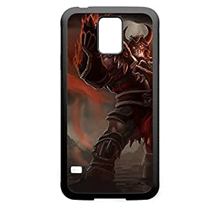 Sion-002 League of Legends LoL For Case Iphone 4/4S Cover - Hard Black