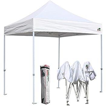 Amazon Com Eurmax Basic 8x8 Feet Ez Pop Up Canopy Party