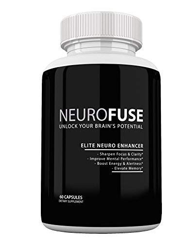 Neurofuse Powerful Focus & Memory Nootropic Pill - Formula Helps Support Memory, Cognitive Function, Focus & Clarity -Reduce Brain Fog & Fatigue ()