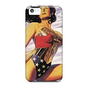 MMZ DIY PHONE CASEScratch Protection Hard Phone Cover For ipod touch 4 (UTz16627Wkmn) Custom Nice Wonder Woman I4 Pictures