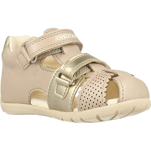 for Brand for Sandals Geox Sandals Slippers Beige Beige G Colour and B Model C Girls Kaytan and Silver Slippers Girls 0qtxqrw7