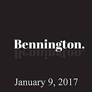 Bennington, January 9, 2017 Radio/TV Program