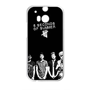 HRMB 5 Seconds Of Summer Brand New And Custom Hard Case Cover Protector For HTC One M8