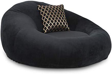 Seatcraft 1971 Bella Fabric Home Theater Seat Foam Round Lounge Cuddle Chair