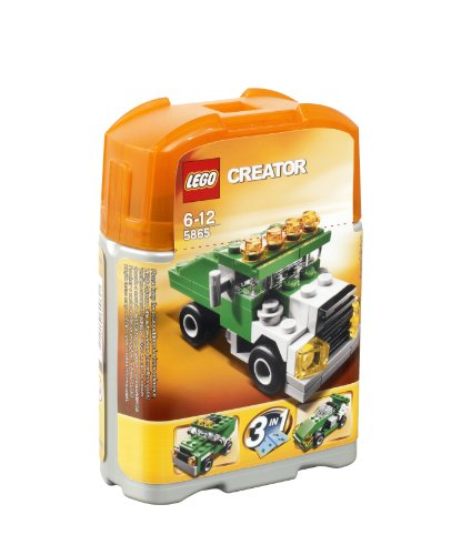 LEGO - 5865 - Jeu de Construction - LEGO Creator - Le Mini Camion Benne