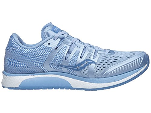 order cheap online Saucony Liberty ISO Womens Road-Running-Shoes S10410 Fog/Blue quality from china wholesale OceGbX