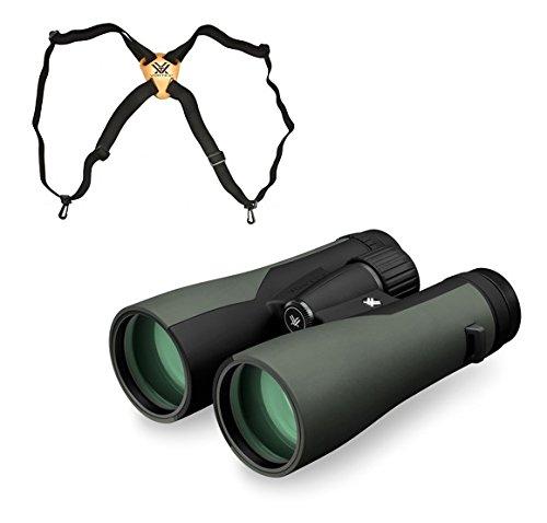 Vortex Crossfire 12x50 Binocular, Green CF-4304 w/Vortex ...