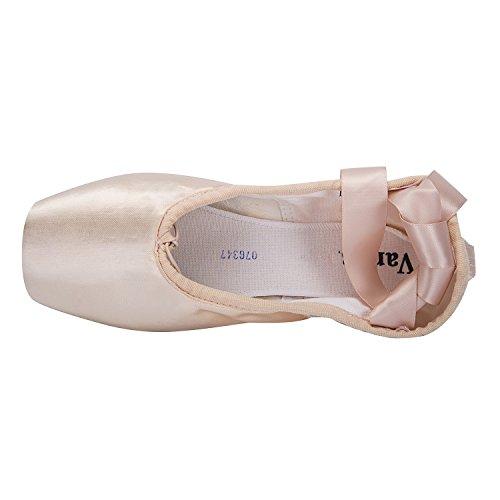 0e3b5a01b788f Wendy Wu Girls Womens Dance Shoe Pink Ballet Pointe Shoes (10 ...