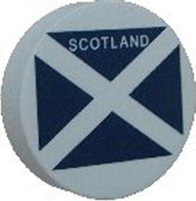 Bandera de Escocia para antena de coche bola de antena Topper – Discos – Sólo uno P & P carga por