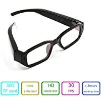EOVAS 8Gb Glasses Camera 720P Camcorder Glasses Video Eyewear Dvr Digital Camera