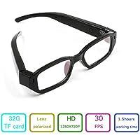 EOVAS 8Gb Glasses Camera 720P Camcorder Glasses Video Eyewear Dvr Digital Camera