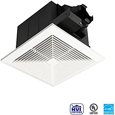 Brilliant Ultra Quiet Ventilation Fan Bathroom Exhaust Fan 75 110Cfm Interior Design Ideas Clesiryabchikinfo