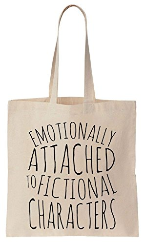 Emotionally Attached to Fictional Characters Sacchetto di cotone tela di canapa