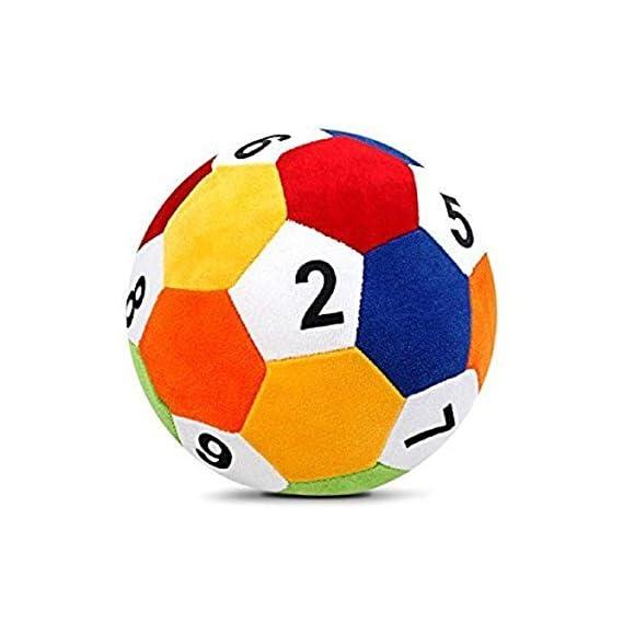 EVERYONIC Kids Stuffed Soft Toy Plush Cotton Soft Fiber Ball (20 cm)
