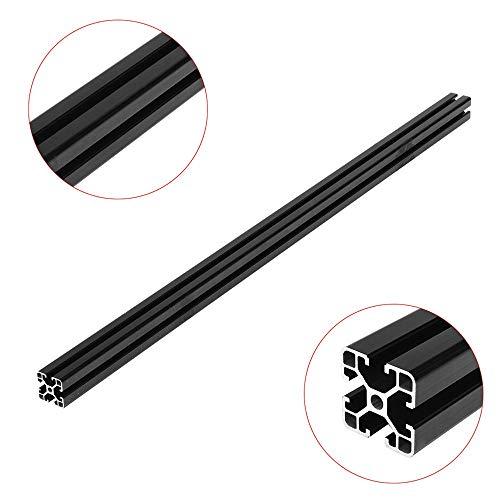 Ochoos Black 1000mm 4040 T Slot Aluminum Profile Extrusion Frame for CNC 3D Printer Plasma Laser Stand Furniture