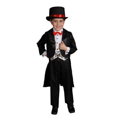 Black Tuxedo - Large 12-14 (Harry Houdini Costume)