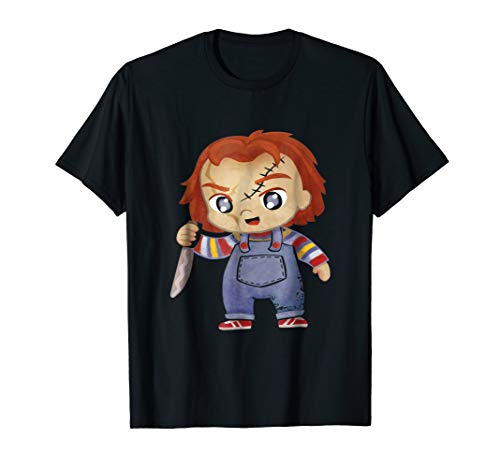 HC Chucky Childs Play Halloween costume t shirt
