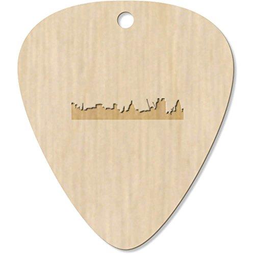 Azeeda 7 x 'London Skyline' Guitar Picks / Pendants (GP00003354)