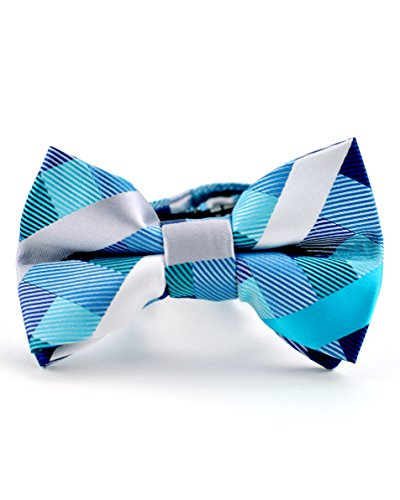 Hook Prince Suit (Littlest Prince Couture Teal Stripes and Squares Youth/Adult Bow Tie 8 Years - Adult)