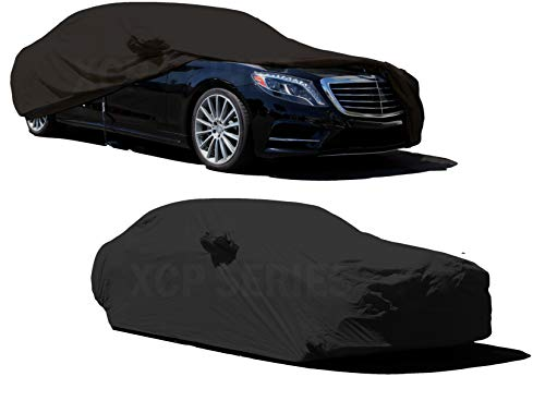 2019 Mercedes S-class - XtremeCoverPro 2000 2001 2002 2003 2004 2005 2006 2007 2008 2009 2010 2011 2012 2013 2014 2015 2016 2017 2018 2019 Mercedes Benz S Class Sedan S550 S600 S63 S65 CAR Cover (Black with Yellow Stitch)