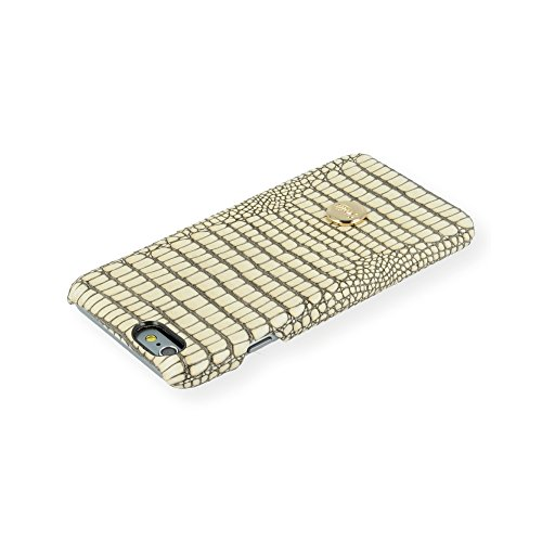 QIOTTI QX-C-0930-40-IP6 Snapcase Q.Snap Wild Premium Echtleder für Apple iPhone 6/6S creme