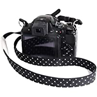 Mavota Black Spot Camera Strap Shoulder Neck Camera Belt For Canon Nikon Olympus Panasonic Pentax Sony SLR/DSLR Camera