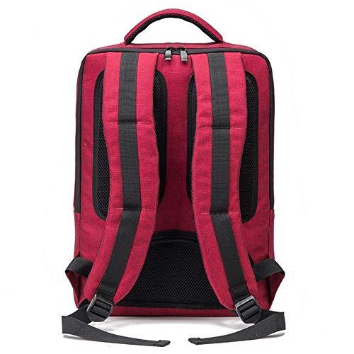 Cabas À Zipper à main Dos Sac Sacs Bandoulière JSXL sac Femme Rouge Polyester Main Unisexe À Cabas Sac Sac À z65qw5a