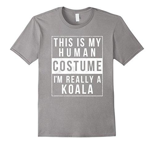 Mens I'm Really a Koala Costume Halloween Shirt Women Men Kids Medium (Best College Halloween Party Ideas)