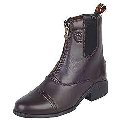 Ariat Women's Heritage Zipper Paddock Riding Boot Round Toe