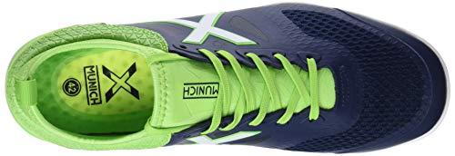 Deporte 26 Azul Tiga Azul Munich Indoor de Adulto Verde Unisex Zapatillas 4BnPHqRw