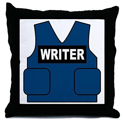 CafePress Castle Writer Pillow Decorative