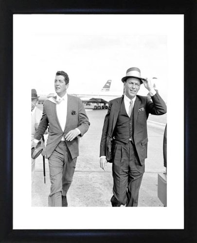 Frank Sinatra And Dean Martin Framed Photo Picture Picture CP1071