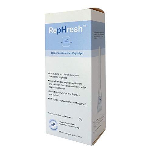 RepHresh™ Vaginalgel (9 vorgefüllte Applikatoren) zur Normalisierung des vaginalen pH-Wertes