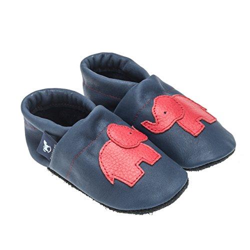 Pantau Estar Mujer Elefant Casa Para 45 De Por Schlappen Größen Lederpuschen Schluffen Blau Patschen Pantoffeln rot eu Piel Puschen Hauschuhe Mit Leder 36 Zapatillas rfwqrx1