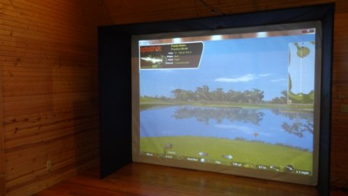 12'x9' MINI ENCLOSURE for Home Virtual Golf Simulator