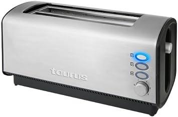 Taurus Tostador Planet Duplo Legend, 1200 W, 0 Decibeles,