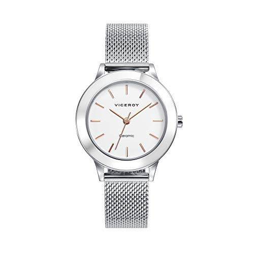 Viceroy Watch 471182-07 Ceramic Woman White Steel