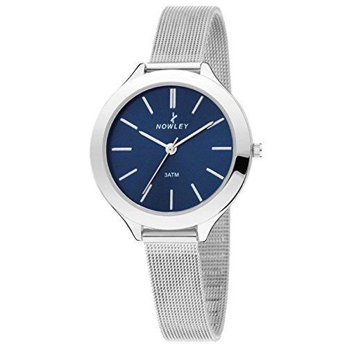 Nowley 8-5585-0-2, Reloj de mujer, correa de esterilla.: Amazon.es: Relojes